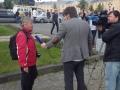 DSC_1750K_IMGP0571 Hilkka intervjuas i Karelsk TV, Petrozavodsk